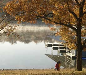 Fishing Lake of The Ozarks In MO  Map Fish Species Lake Info