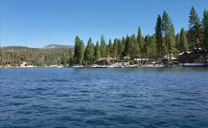Fishing Bass Lake In Central Ca Map Fish Species Lake Info